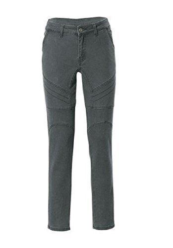 Jeans Damen Röhrenjeans von Rick Cardona Kurzgröße Khaki