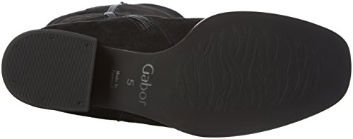 Gabor Shoes Basic, Stivaletti Donna Nero (Schwarz 17)