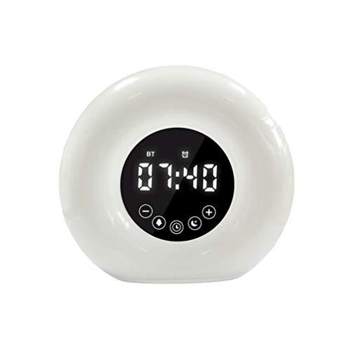 Healifty Reloj Despertador Musical Estéreo Digital