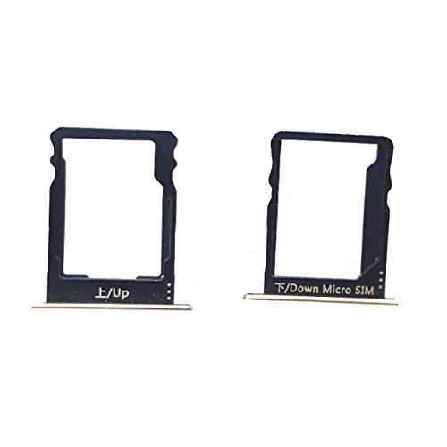 Goliton SIM Karte + Mikro SD Speicher Halter Behälter Ersatzteil Für Huawei P8 Lite - Schwarz (Von Speicher Karte)