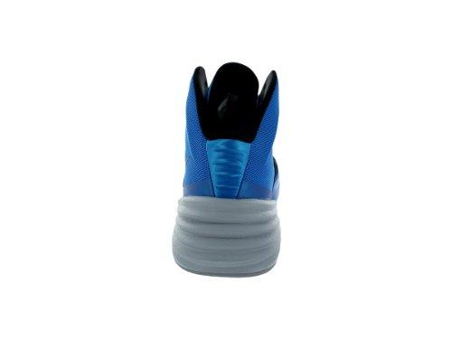 Nike Hyperdunk 2014, Chaussures de Sport-Basketball Homme Photo Blue/Wolf Grey/Black