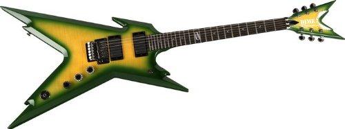 Dean Razorback per chitarra, motivo con Case Dime Slime - Razorback Dime