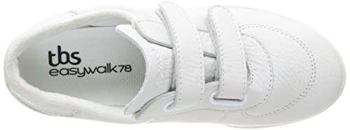 Tbs - Chaussures Plates, Femme Blanche (blanc)
