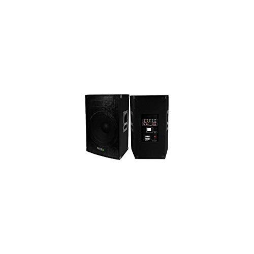 Ibiza Sound - Altavoz activo amplificado 800 w ibiza sound disco-15-amp