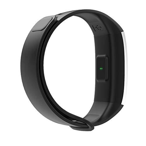 VRTUR IP67 wasserdichte Smartwatch Drahtlose Sport Armbanduhr Android und IOS APP-Bericht zu erstellen Silikon Armband intelligente Uhr Schwarz