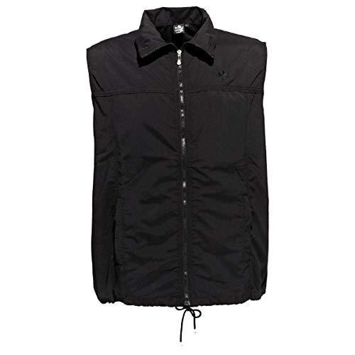 Gilet de Survêtement Noir Ahorn Sportswear Grande Taille, 2xl-8xl:2xl