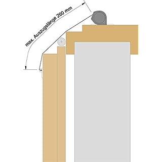 Athmer Fingerschutz NR-25 | Farbe: silber | Länge (mm): 1925