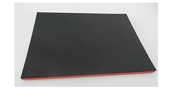 Shadow Foam Easy Peel Confezione da cinque 600 mm x 420 mm schiuma personalizzabile per organizzare cassette degli attrezzi Profondit/à 30mm , Rosso su nero