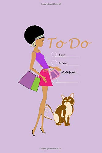 To Do List Mini Notepad: Small notebook Lined paper Index Numbered pages Bullets Pocket sized 4x6 -