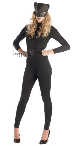 tüm - Superheld Halloween Jumpsuit und Maske (Cat Damen Halloween Outfits)