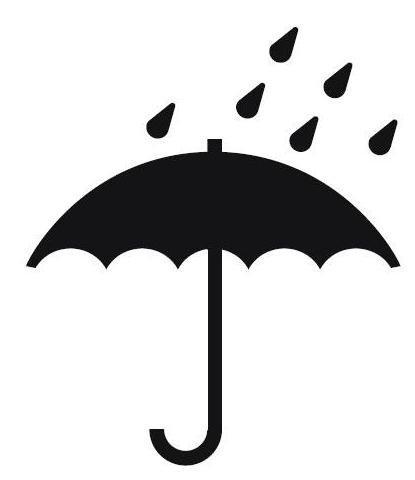 Qeridoo Sportrex 2 Regenschutz für Fahrradanhänger