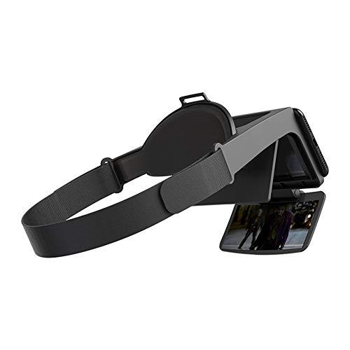 Realtà Aumentata Portatile AR Glasses Occhiali per Realtà virtuale 4K Ultra HD 3D Gaming Film Helmet Phone PK VR-Black