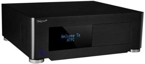 OrigenAE S14V Micro-ATX HTPC PC-Gehäuse VF-Display schwarz