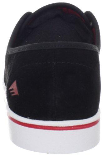 599 Sportschuhe Red Laced Leo Herren Noir White Black Emerica Y618B