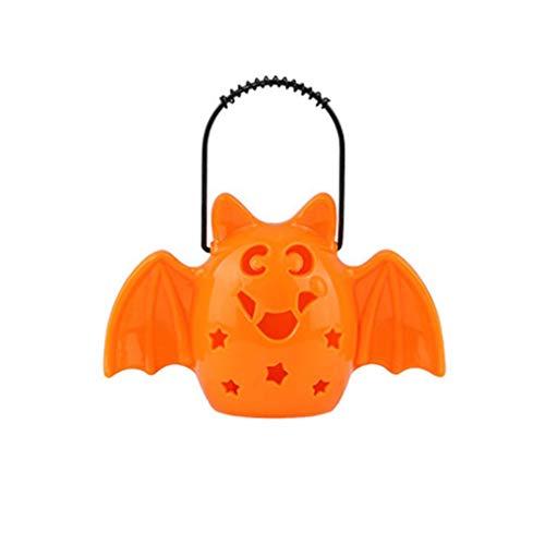 Decor Laterne zum Aufhängen Kürbis LED Lampe Outdoor Home Requisiten Hand Kürbis Lampe Einheitsgröße B ()