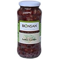 Bionsan Azukis Cocidos Ecológicos - 4 Bolsas de 400 gr - Total: 1600 gr (4241121)