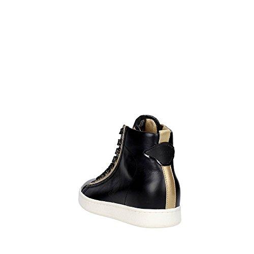 Serafini CAMP.34 Sneakers Femme Cuir Noir Noir