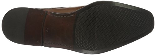 Fretz Men Castle, Derby homme Marron - Braun (56 cigar)