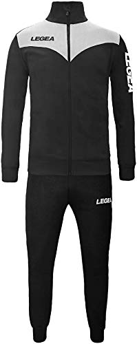 My custom style tuta legea peru xl bianco-nera_p nero. senza stampe