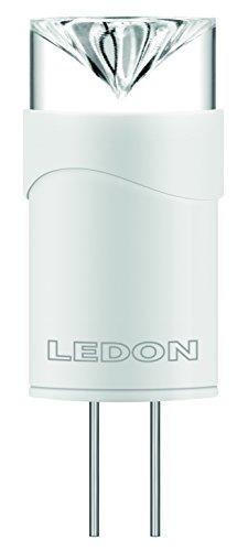 Ledon LED Stiftsockellampe CAP 1.5W - 10W Ersatz, warmweiß - 2700K, G4 12V, beste Farbwiedergabe 28000541