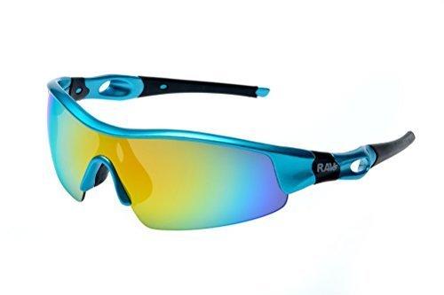 Occhiali - Snow Beach Volley Edoardo Ciclismo Triathlon Sole Super-Flash Mirror Coating