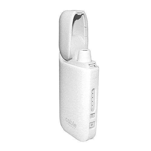 Cable Technologies Soft case für IQOS 2.4/2.4 Plus Pocket Charger, weiche Schutzhülle für Soft Touch Silikon-Ladegerät, Abdeckung (White)