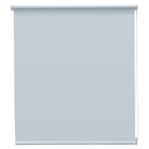 Your Choice 1173628 - Estor Enrollable Translúcido, Liso, Azul Claro, 90x190cm