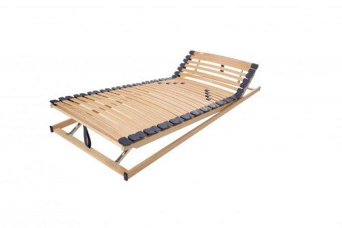 Lattenrost Modell XXL Natur KF, Übergewicht - bis 200kg, sehr komfortabel - Made in Germany, Größe:90x200