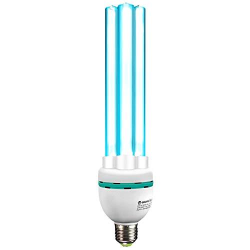 Bombilla de luz Ultravioleta Compacto CFL Auto-lastre E27 Tornillo Socket Lámpara Ultravioleta Ultravioleta...