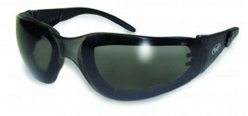 Preisvergleich Produktbild Global Vision Eyewear Rider Plus Safety Glasses with EVA Foam, Smoke Lens