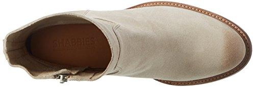 Shabbies Amsterdam Damen Shabbies Stiefelette mit Reisverschluß Kurzschaft Stiefel Beige (Taupe)