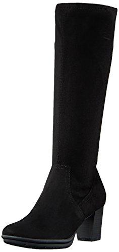 Marco Tozzi Damen 25513 Stiefel, Schwarz (Black), 39 EU (Stiefel Damen Stretch)