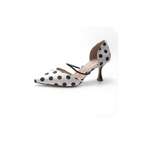 einzelne Schuhe des flachen Munds Damen zeigte Sandalen Frauen Bequeme hohe Absätze, weiß, 35 (Rockport-pumpen-frauen-schuhe)