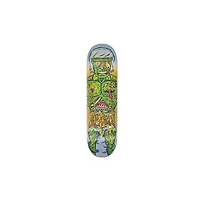 Creature Multi Bods Jerald Everslick - 8.25 Inch Skateboard-Deck (One Size, Grun)
