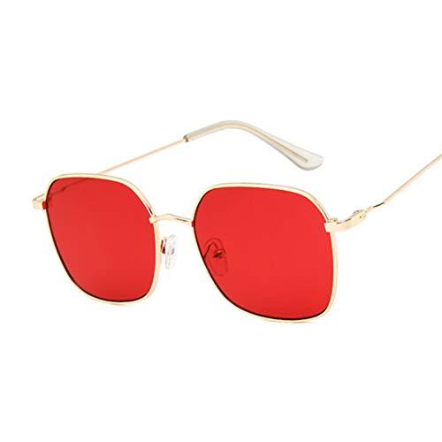 DWSYDA Sonnenbrille-Frauen, welche die Spiegel-Sonnenbrille-Frau Fahren,6