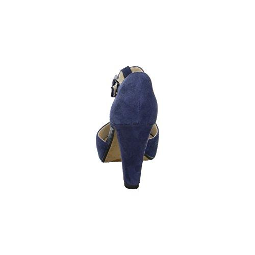 Clarks KENDRA FLOWER Damen Sandaletten Blau