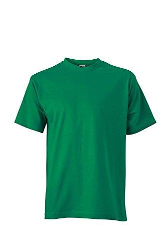 JN747 Basic-T T-Shirt aus Single-Jersey irishgreen