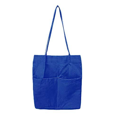 b01ccad228ae2 JAGENIE Frauen Schulter große Wiederverwendbare Einkaufstasche lässig Strand  Schule Handtasche