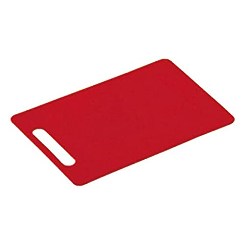 Kesper 2051606 Planche à Découper en Rouge 29 x 19.5 x 0.5 cm