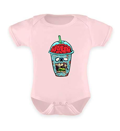 Affiliate.Inc Zombie Smoothie, das etwas andere getränk. Ideales Kostüm für Halloween zeig den Untoten - Baby Body -6-12 Monate-Puder Rosa