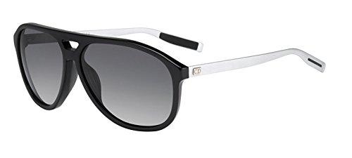 Dior Homme Blacktie 176s Cut Black / Matte Palladium / Grey Gradient, Polarized Kunststoffgestell Sonnenbrillen