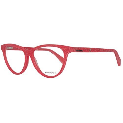 Diesel Damen Brillengestelle Brille DL5130 068 54, Rot