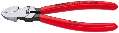 Preisvergleich Produktbild Knipex Seitenschneider für Kunststoff, Länge 200 mm, 1 Stück, 72 01 160 SB