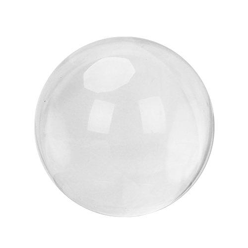 Merssavo Magische Klarglas Heilung Ball Kugel 40mm Innenministerium Zimmer Schreibtisch Ornamente