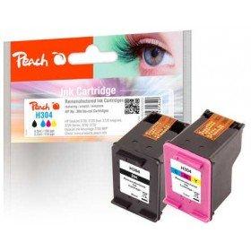 Preisvergleich Produktbild Peach Spar Pack Druckköpfe kompatibel zu HP No. 304