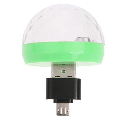 Rrimin Mini USB Disco Light Portable Home Party Light karaoke LED Decorations  available at amazon for Rs.396