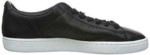 Puma Basket Classic Citi Series Unisex-Erwachsene Sneakers Mehrfarbig (black-white 01)