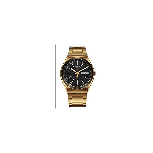 Swatch Pulsera Unisex Reloj Dorado