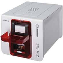 Evolis Zenius Expert, single sided 300dpi, USB, Ethernet, RFID, ZN1H00CWRS (300dpi, USB, Ethernet, RFID incl.: card feeding, RFID (reader, writer), cable (USB), psu, power cable (EU))