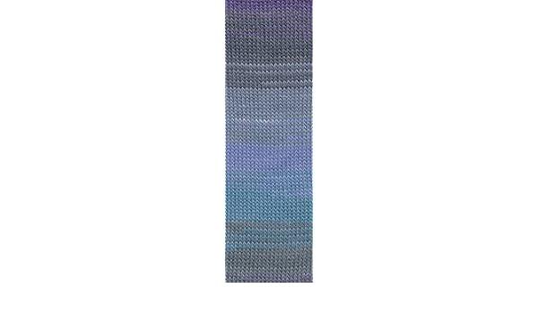 wunderbare Druckfarben auf klassischer Mischung 150g Lang Yarns Jawoll Magic superwash 6-fach Farbe 16 grün/blau/pink/terra